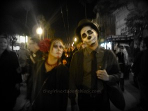 Asian Couple at Dia de los Muertos San Francisco 2014 | The Girl Next Door is Black