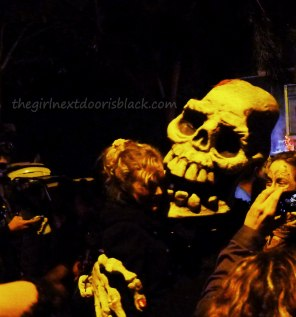 Giant Skull Dia de los Muertos | The Girl Next Door is Black