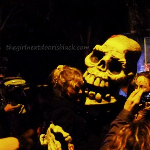 Giant Skull Dia de los Muertos | The Girl Next Door is Black