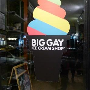 Big Gay Ice Cream Shop Rainbow Cone | The Girl Next Door is Black