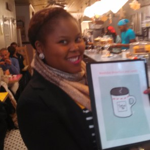 Dining at The Kitchenette, New York | The Girl Next Door is Black