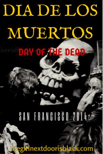 Dia de Los Muertos Skull San Francisco 2014 | The Girl Next Door is Black