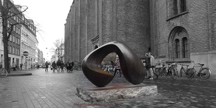 Rundetaarn Sculpture Copenhagen | The Girl Next Door is Black