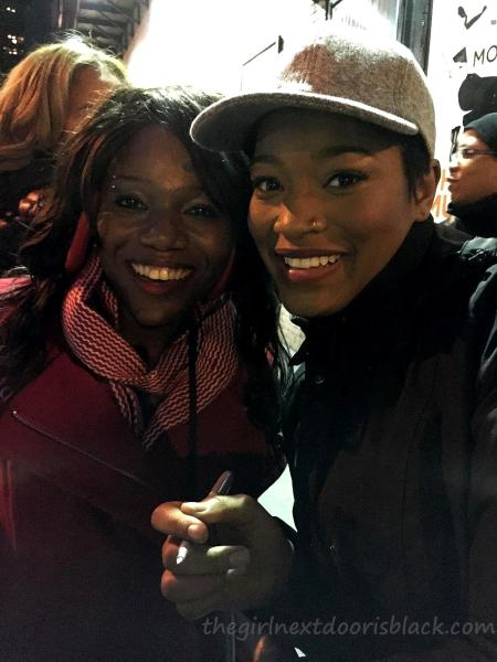 With Keke Palmer After Broadway Show | The Girl Next Door is Black