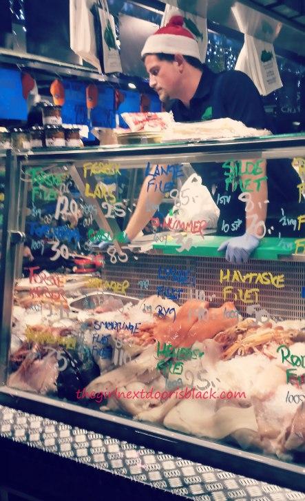 Fish for sale in Torvehollerne | The Girl Next Door is Black