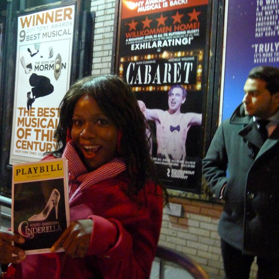 Cinderella Stage Door Broadway   The Girl Next Door is Black