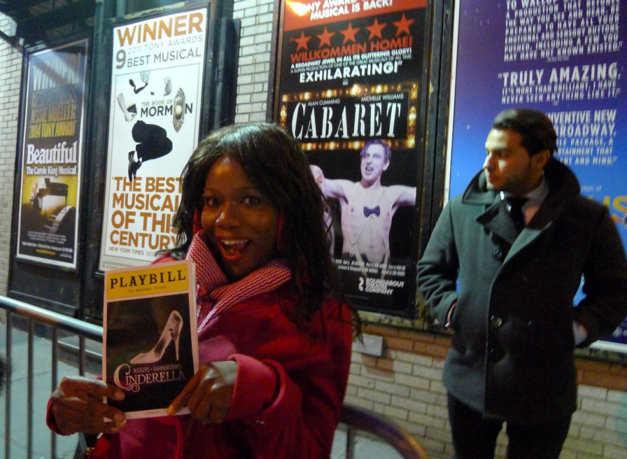 Cinderella Stage Door Broadway | The Girl Next Door is Black