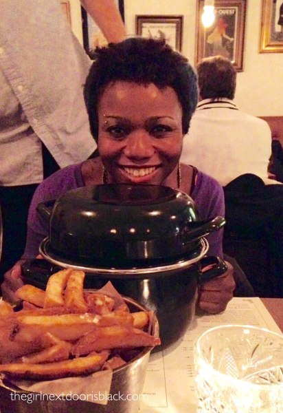 Mussels / Moules at Grill Royal Copenhagen Denmark | The Girl Next Door is Black