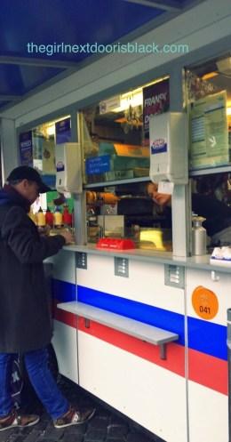 Pølsevogn Hot Dog Stand Copenhagen, Denmark | The Girl Next Door is Black