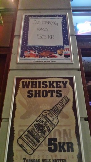 Whiskey Shots Ad Saloon Bar Copenhagen, Denmark | The Girl Next Door is Black