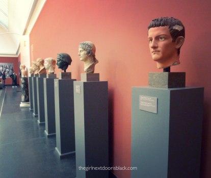 Caligula Bust Carlsberg Glyptotek   The Girl Next Door is Black
