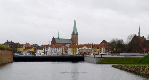 Kronborg Castle from a distance Kronborg Denmark