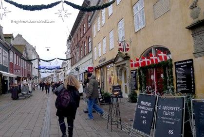 Helsingør at Christmas Denmark