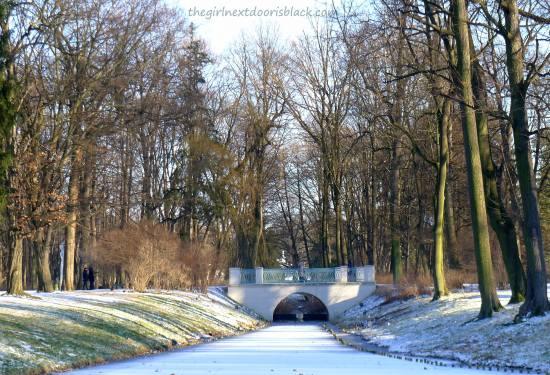 Łazienki Park 1 Bridge   The Girl Next Door is Black