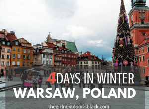 Things to do, see and eat with 4 days in historic Warsaw, Poland. See more on The Girl Next Door is Black