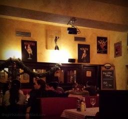 Interior of Chez Marcel Prague | The Girl Next Door is Black