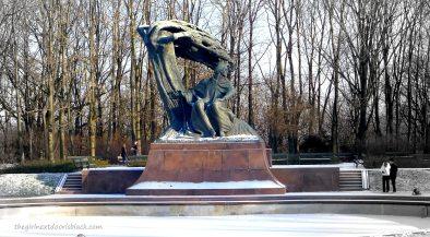 Chopin Monument Warsaw   The Girl Next Door is Black