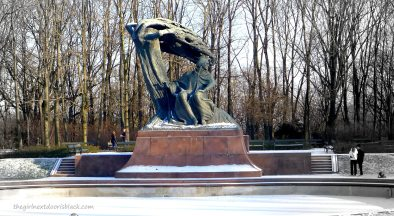 Chopin Monument Warsaw | The Girl Next Door is Black