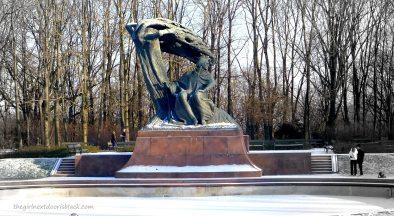 Chopin Monument Warsaw | The Girl Next Door is Black