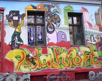 Graffiti Kreuzberg Berlin