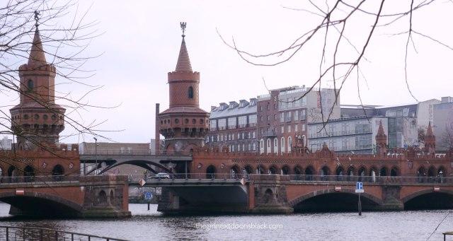Oberbaum Bridge Berlin River Spree