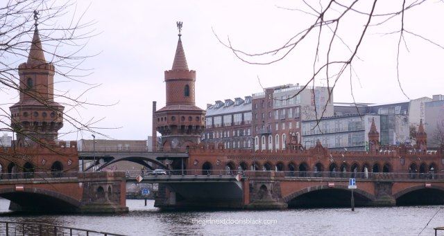 Oberbaum Bridge Berlin River Spree