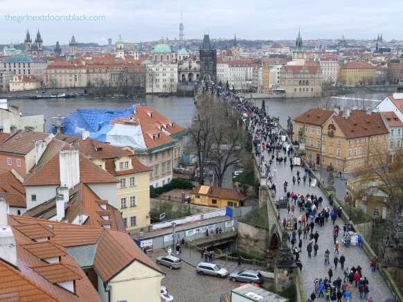 New Town Prague from Above   The Girl Next Door is Black