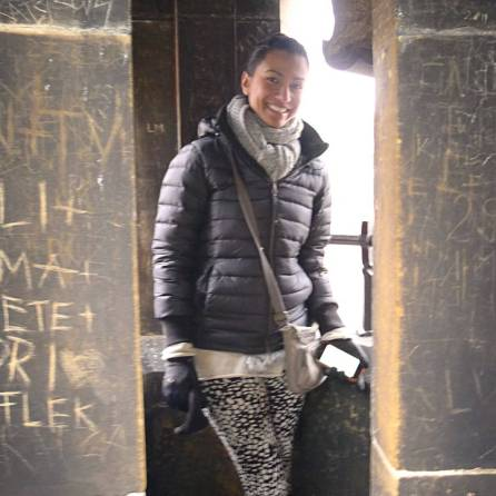 Z in Lessor Town Bridge Tower | The Girl Next Door is Black
