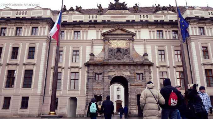Prague Castle | The Girl Next Door is Black