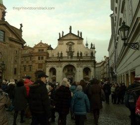 Old Town Stare Miasto Prague   The Girl Next Door is Black