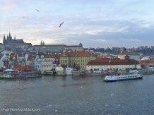 View from Charles Bridge Prague   The Girl Next Door is Black