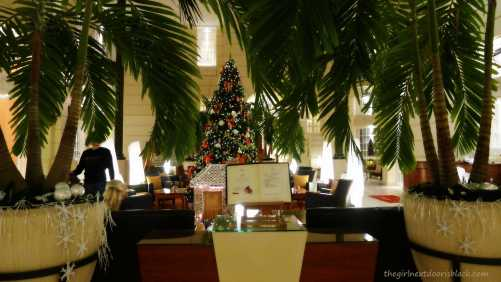 Things to do, see and eat with 4 days in historic Warsaw, Poland. See more on The Girl Next Door is Black| Polonia Palace Lobby at Christmastime Warsaw