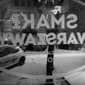 Smaki Warszawy Restaurant Snow | The Girl Next Door is Black