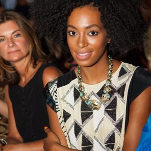Band of Outsiders Spring 2012 Solange Knowles