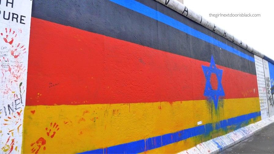 Berlin Wall Star of David