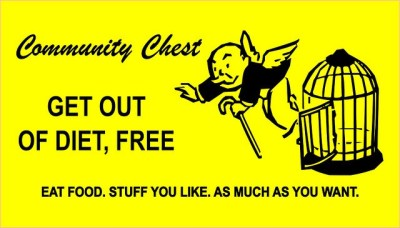 Get Out of Diet Free Monopoly Card by Heather Wegemer, flickr.com | The Girl Next Door is Black