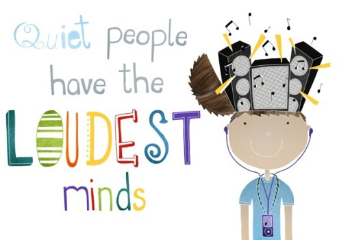 "Quiet people have the LOUDEST minds from ""Why Are You So Quiet"" on The Girl Next Door is Black"