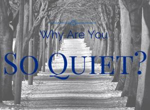 Why Are You So Quiet?   The Girl Next Door is Black