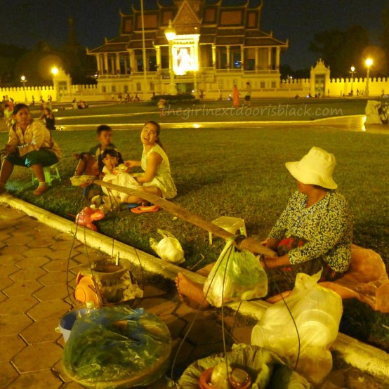 Phnom Penh, Cambodia is a city in rebirth with gilded royal palaces and thriving local outdoor markets | Read more on The Girl Next Door is Black