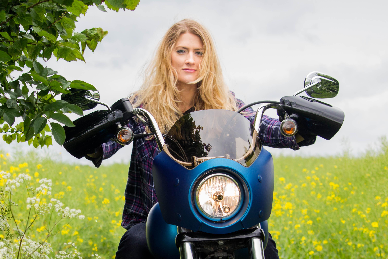 Memphis Shades Café Fairing Review » The Girl On A Bike
