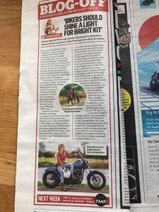 MCN column on the need for bright clothing