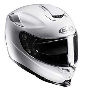 The Girl On A Bike HJC RPHA 70 motorbike full face helmet white
