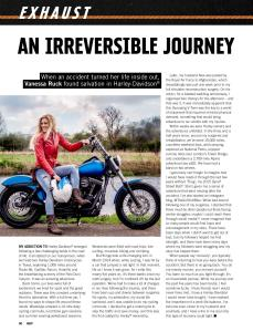 The girl on a bike vanessa ruck harley davidson how it started about me hog magazine