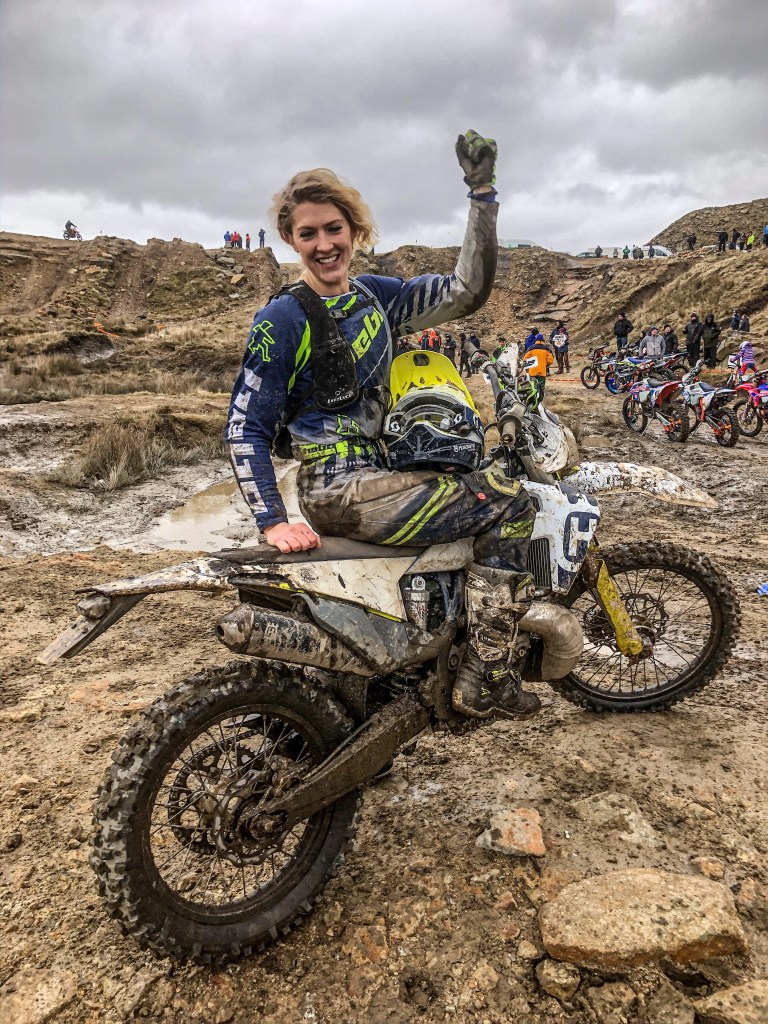 British Extreme Enduro finisher Vanessa Ruck
