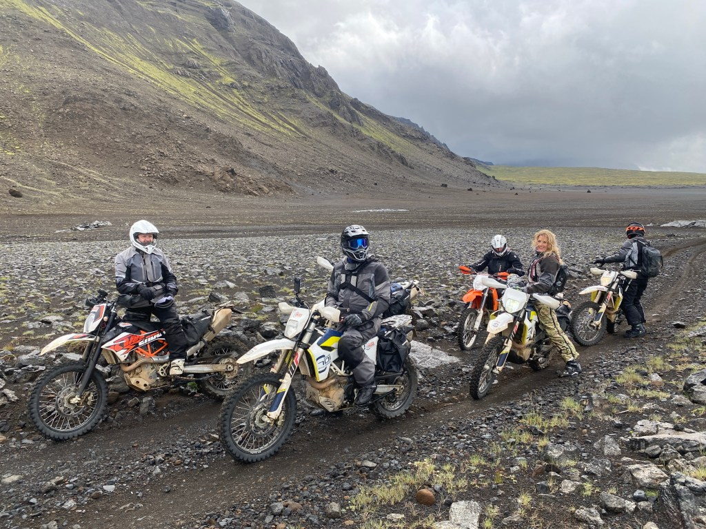 the girl on a bike iceland husqvarna 701 adv ridewithlocals 1