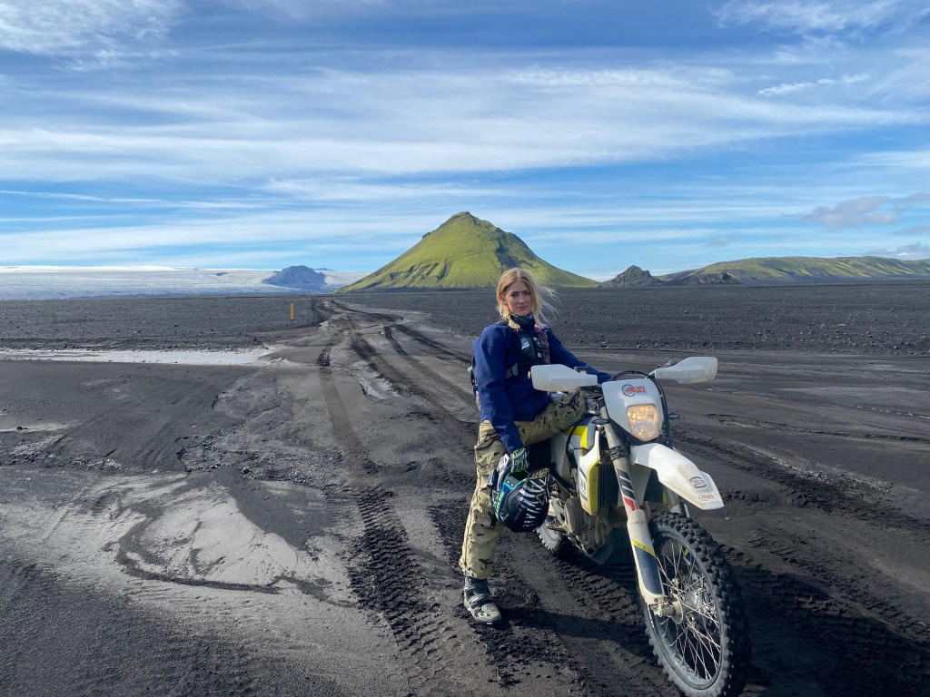 the girl on a bike iceland husqvarna 701 adv ridewithlocals 10