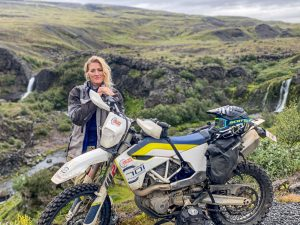 the girl on a bike iceland motorcycle ridewithlocals 45