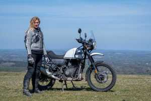 The girl on a bike superior motorcycle experiences dorset royal enfield himalayan 34