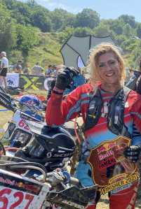 the girl on a bike red bull romaniacs finisher