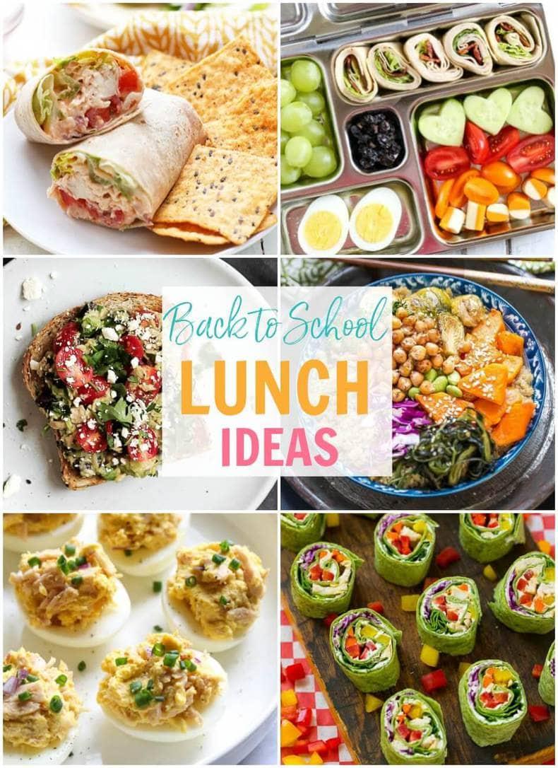 Kids School Lunch Menu